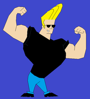 Johnny Bravo, by MollyKetty