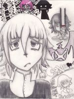 Crona Sketches by DeathlingDog