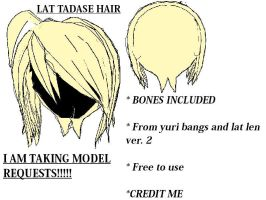LAT Tadase Hair DL by hakufan4eva