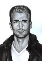 CHRIS EVANS by DemidovArt