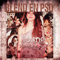 Blend Psd//Young Forever. by OurNight