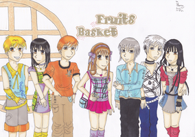 fruits basket characters by yo-yo09