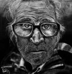 Homeless man Lee Jeffries by artistickittn