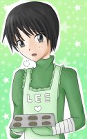 Cooking with Rock Lee by Lindajing