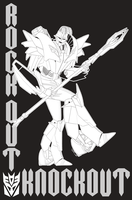 Rock Out Knockout Lines by Laserbot