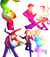 [speedpaint] Swing dancing by ChloesImagination