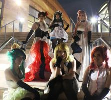 Camellia Group by Twin-EdgeCosplay
