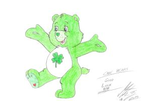 Care Bears - Good Luck Bear by MortenEng21