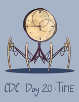 CDC - Day 20 - Time by mel-de-ly