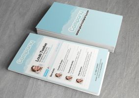 Twitter Premium - Business Card by CoolFlyers