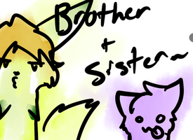 Brother and Sister~ by MissKittens
