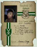 My Slytherin ID by Tomoyo-plumqueen