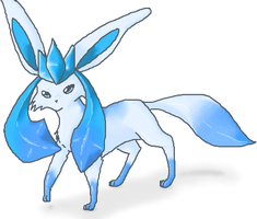 Shiny Glaceon by Glyon