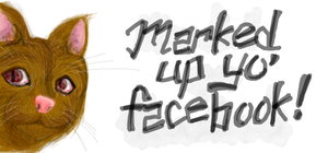 Facebook Cat by CoffeeStainedStudio