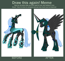 Nyinx: Before and After Meme by NyinxDeLune