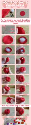 How to make a raspberry by SuperCat0000