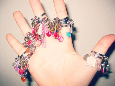 Charm Rings by Stardom7