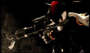 Shadow : The Baddest Hedgie of All by DeathGoddess1995