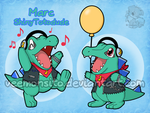 Marc the Totodile by Veemonsito