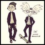 Hipsters by KasugoKage88