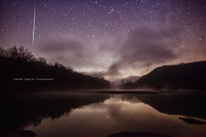 Meteor Shower by LaurenCoakley