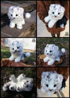 (FOR SALE)Hand made: Baby white tiger by MalinaToys