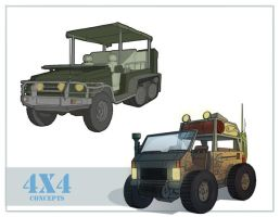 4X4 Concepts by tokuku