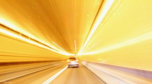 A light tunnel by T-20-A-20