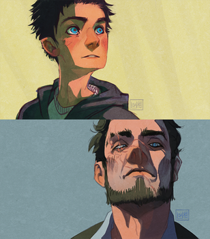 Yuriy and Les by Nacre-Headphones