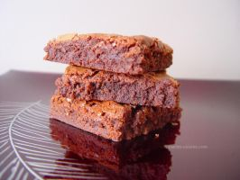 Nutella brownies by maytel