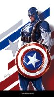 Captain America by avalonfilth