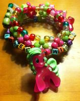 Flower Wishes Bracelet by 4CatsinaBoat