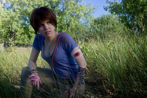 Far Cry 3 Jason Brody Cosplay - on the hunt by LadyofRohan87
