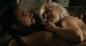Khalisi gives khal a bj in the car 5