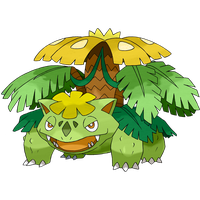 Mega Venusaur (Shiny Theory) by HGSS94
