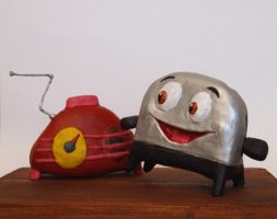 Brave Little Toaster Painted by shalonpalmer