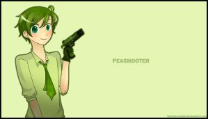 PvZ-Peashooter by Tomato-salad
