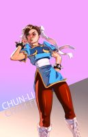 SF Girls: Chun-Li by taho