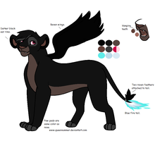 Ruthless-Rainfrost Design ~commish~ by SummerSnowLeopard