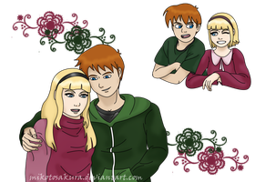 Request - Chris Lair and Lillian Hale by MikotoSakura