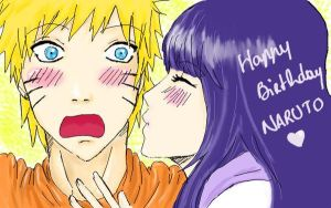 Happy Birthday Naruto-kun by Hanahi-chan