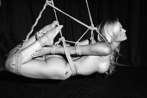 Flying Hogtie I by dragoninlondon