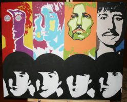Beatles contrast by LovelyAngie