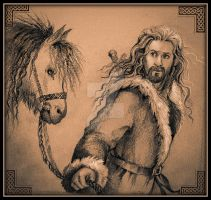 Fili and ponies by MaTilda-2941