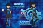 Code Lyoko FC Laurel Greene Season 4 by Okeanos-Heart