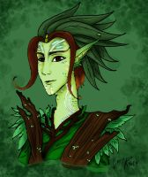 Ien, the oracle of the Earth by LedyRaven