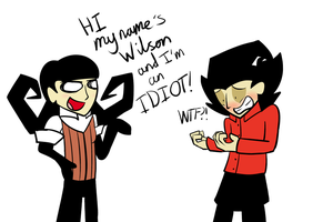 Don't starve: Clothes swap! by ProfessorLucario9