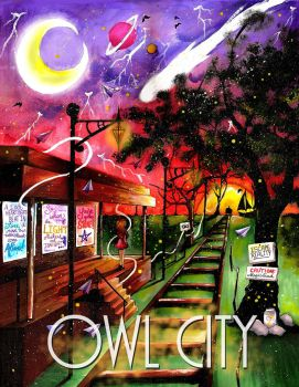 Owl City Poster Design Contest by KyogrePrincess16
