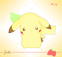 Strawberrychu c: by Jellechu