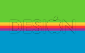 Apple Design Wallpaper by Luned13